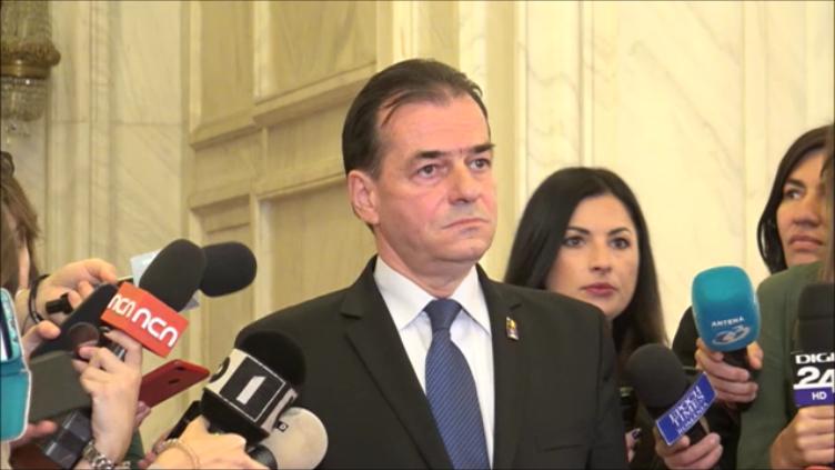 Guvernul Orban va fi supus votului Parlamentului pe 4 noiembrie