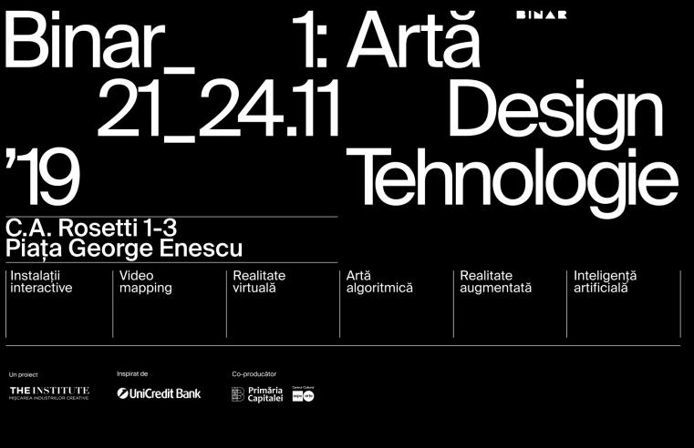 Începe BINAR, o expoziție cu proiecte de AR, VR și instalații digitale