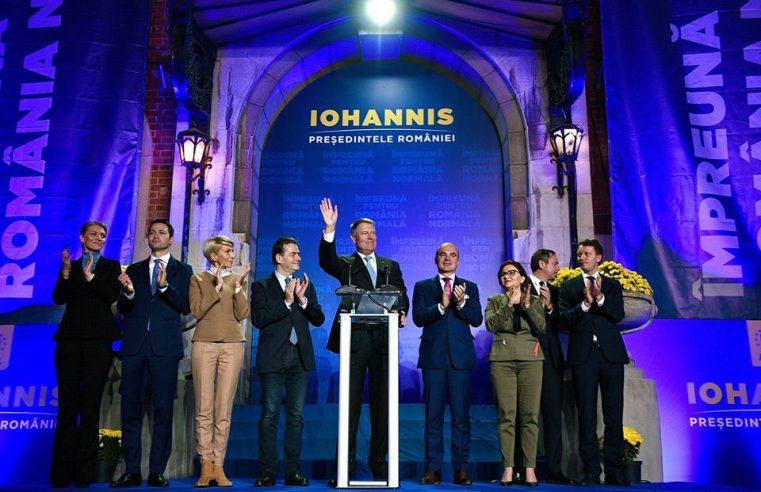 Iohannis câștigă primul tur al alegerilor- Video