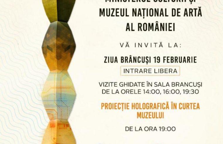Ziua Națională Constantin Brâncuși, celebrată printr-o serie de premiere