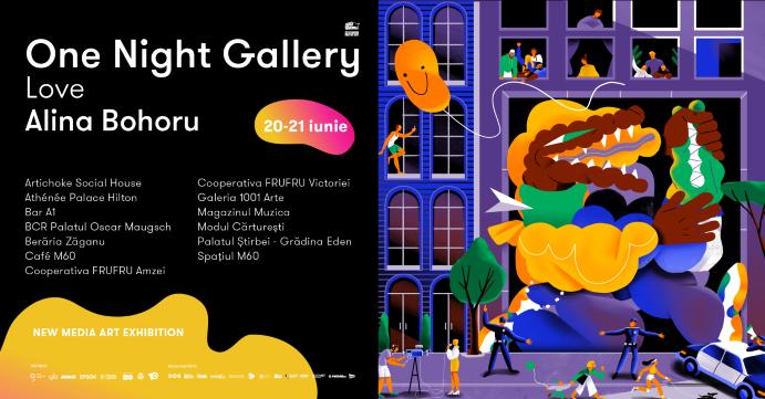 Expoziție de new media art, în acest weekend, în centrul Bucureștiului – VIDEO