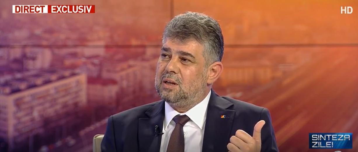 Ciolacu: Există o majoritate pentru demiterea Guvernului PNL- Video