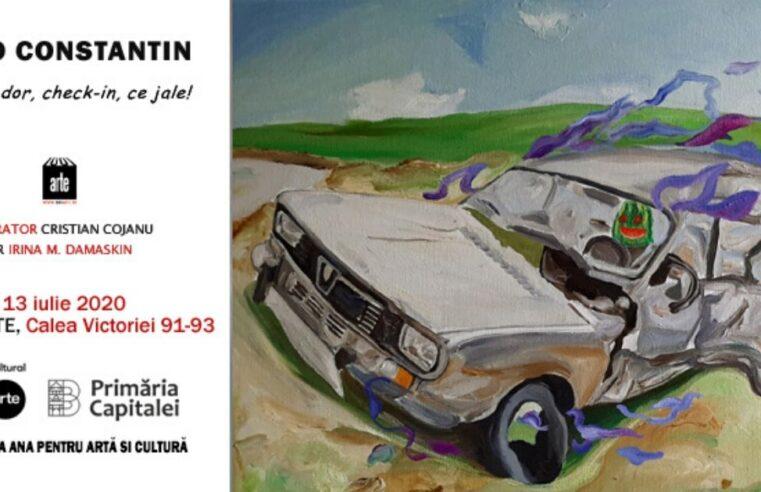 "Expoziția luiOtto Constantin – ""Of, Ce Dor, Check-In, Ce Jale!"" – la Galeria 1001 Arte"