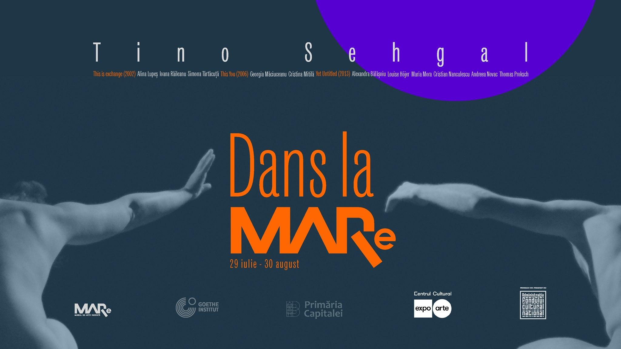 Tino Sehgal, pentru prima dată într-un muzeu din România, cu Dans la MARe