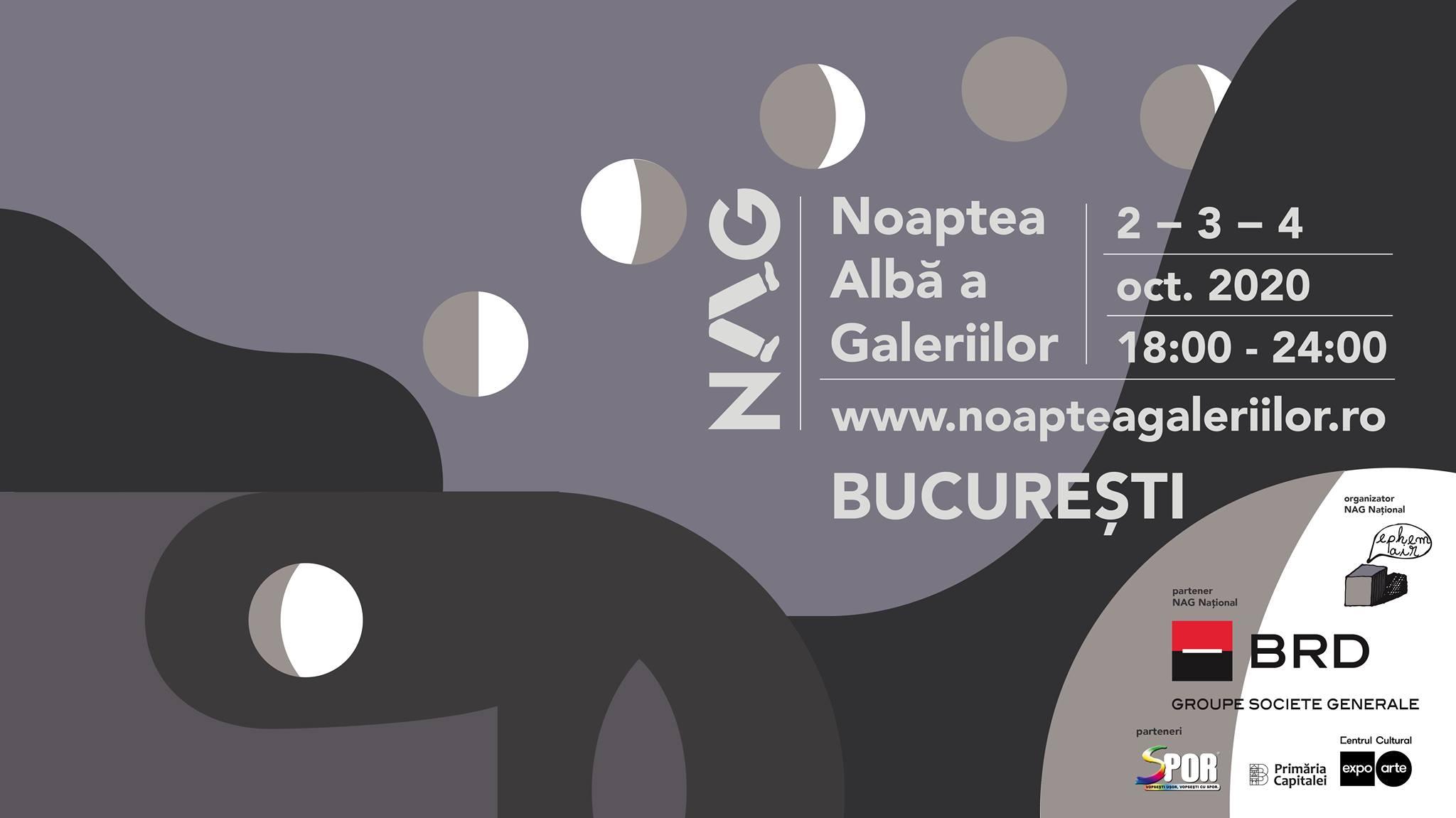 Noaptea Albă a Galeriilor/NAG, weekendul acesta, în București și 11 orașe din țară