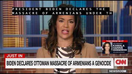 CNN: Biden recunoaște masacrul armenilor din perioada otomană ca fiind un genocid (Video)