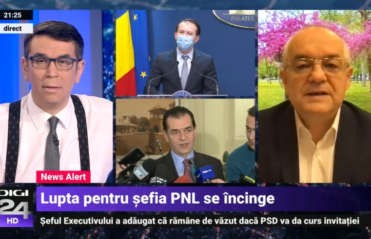 Ludovic Orban, în corzi. Boc: Florin Cîțu reprezintă viitorul PNL (vezi video)