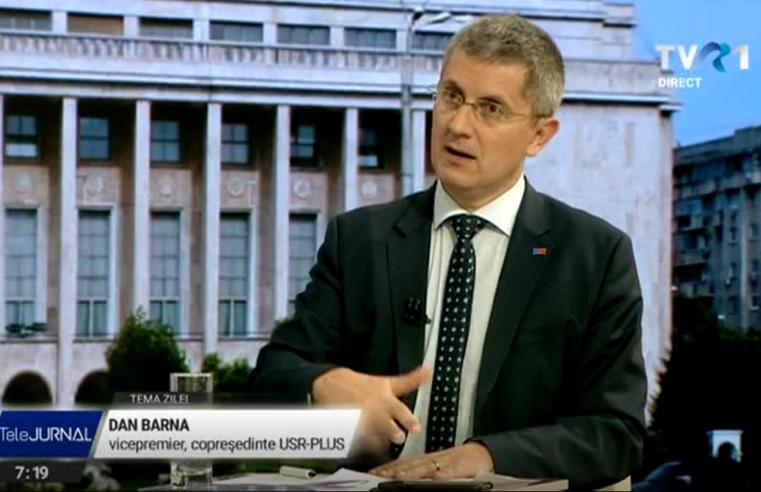 Barna (USRPLUS): Există un grup în partid care cere ieșirea de la guvernare (VIDEO)