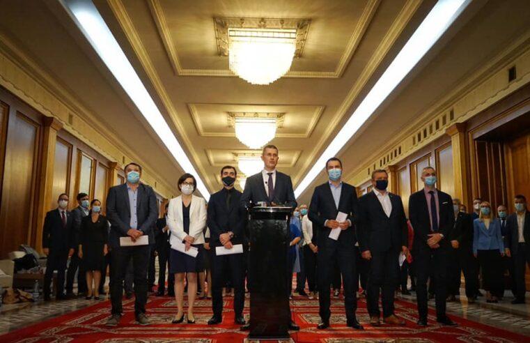 USRPLUS se retrage de la guvernare. Guvernul PNL-UDMR, nevoit să caute în maxim în 45 de zile o nouă majoritate parlamentară. O va avea?
